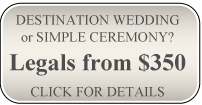 Destination Wedding or Simple Ceremony?
