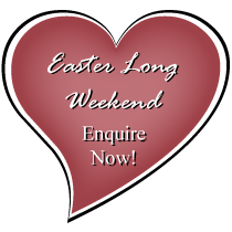 Enquire about an Easter Long Weekend Wedding
